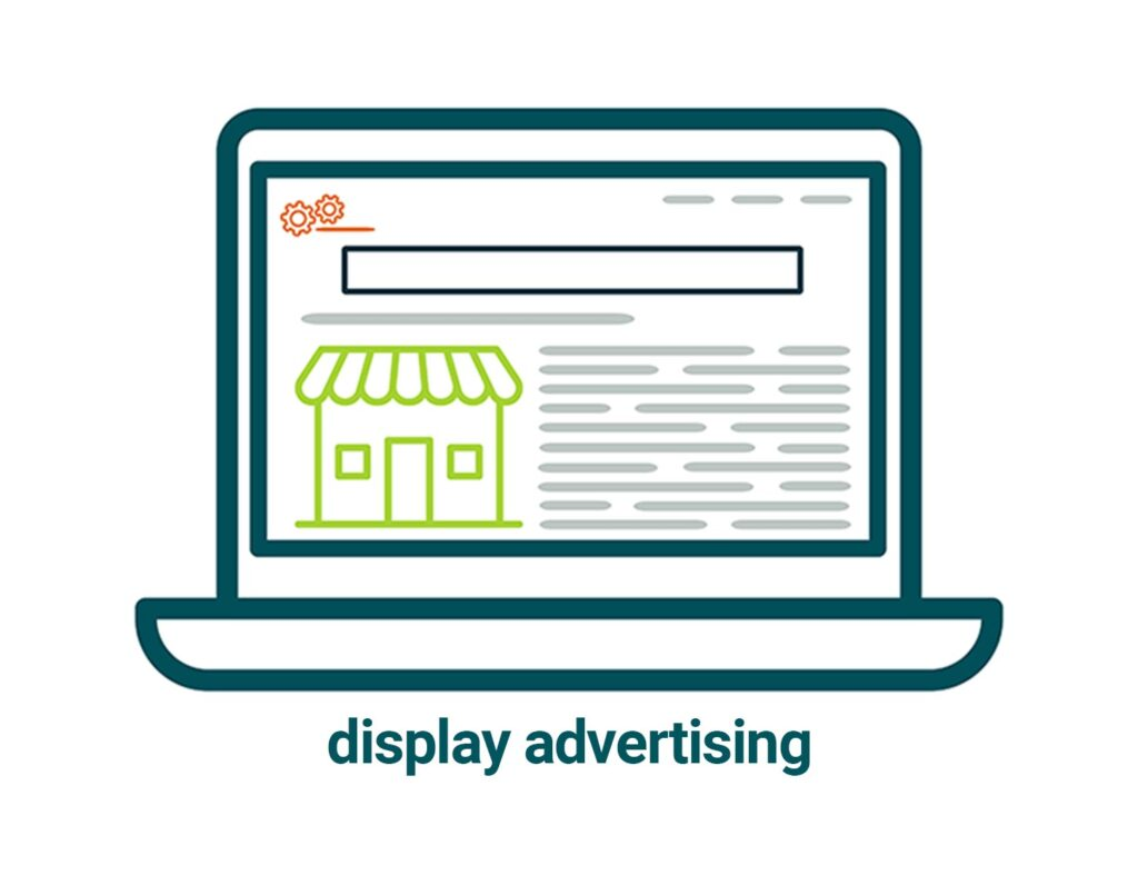 links to display advertising page