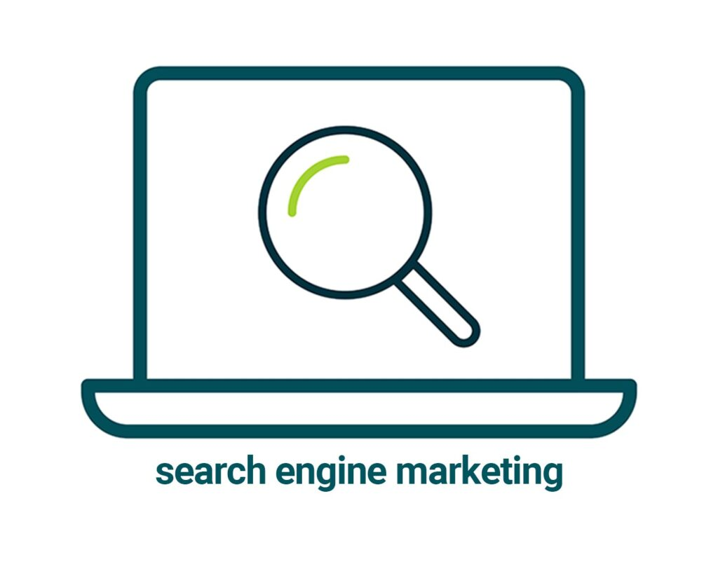 links to search engine marketing page