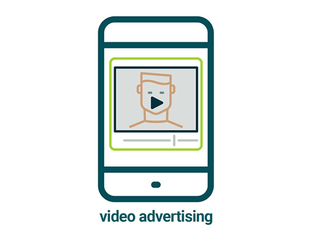 links to video advertising page