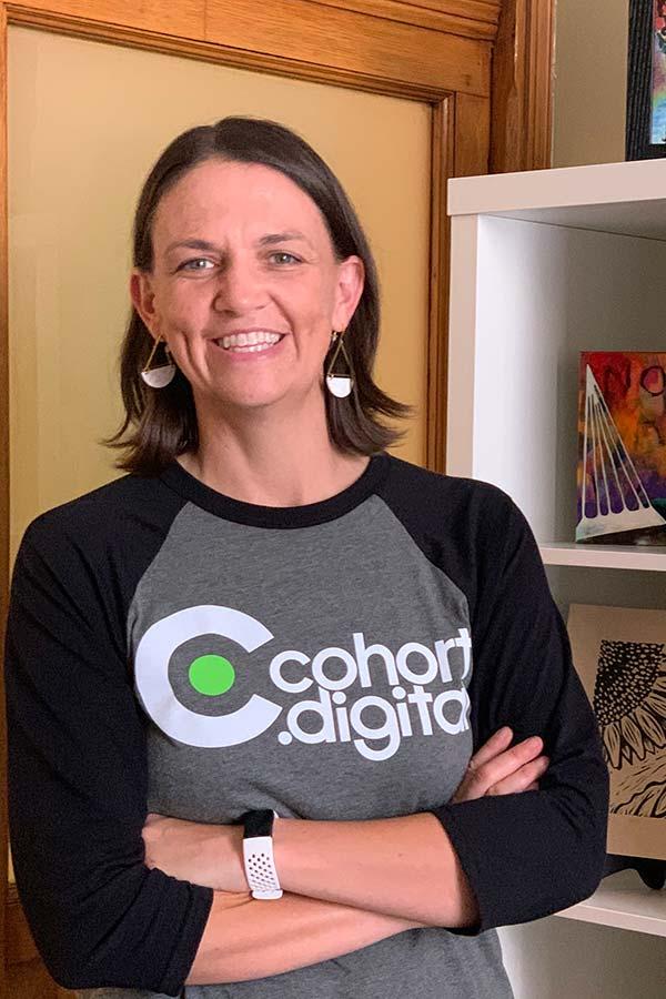 Meet Alissa Menke, the founder of cohort.digital.