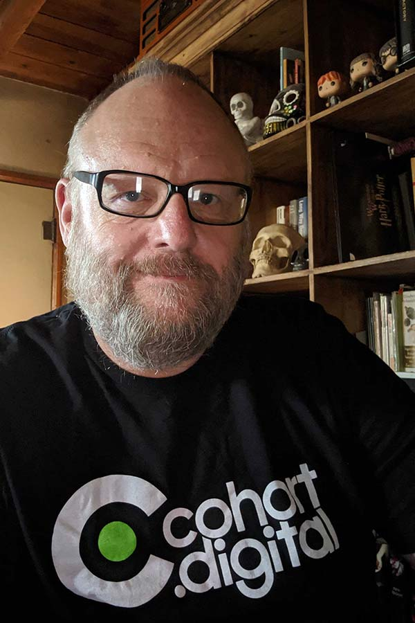 Meet Chris Callahan, digital campaign manager at cohort.digital.