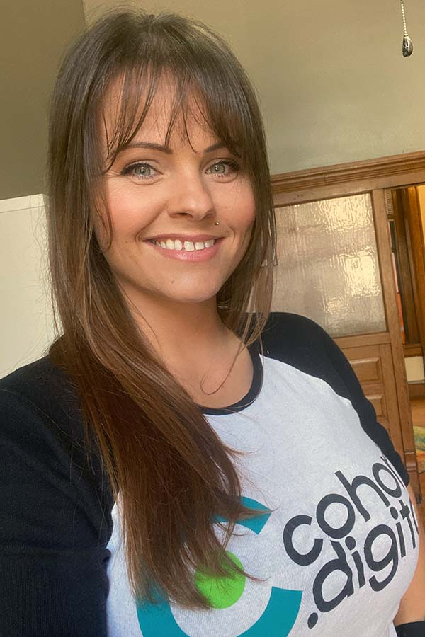 Meet Melissa White, digital marketing manager at cohort.digital.